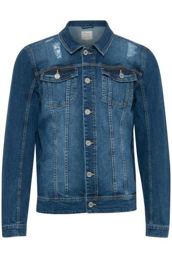 última selección de 2019 venta barata del reino unido nueva precios más bajos chaqueta tejana básica elástica Blend Of America Denim Middle Blue